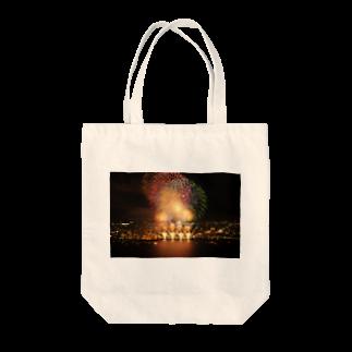 写真集の花火 Tote bags