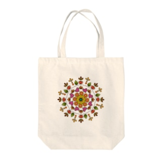 花と緑に愛をⅠ Tote bags