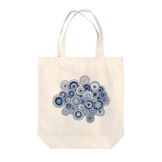 丸の集合体 Tote bags