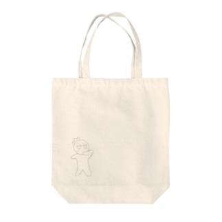 びっくりよころん Tote bags