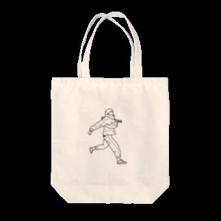 SHOP.もーちょの風をきって Tote bags
