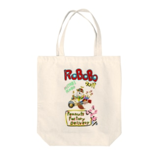 🤖ROBOBO「みやびロボ」 Tote bags