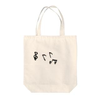 音符 Tote bags