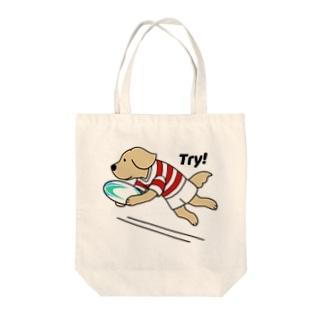 ラグビー1 Tote bags