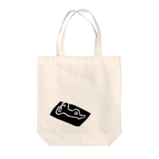 ヒルネビト Tote bags