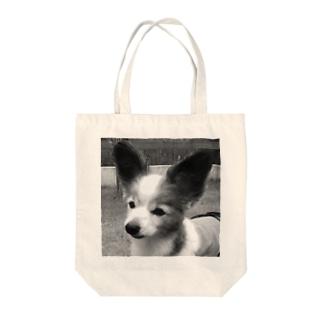 おそと店長 Tote bags