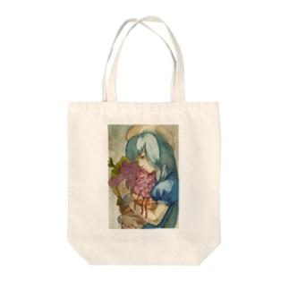 くうきと花束 Tote bags