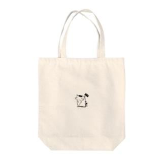 全裸ハンマー Tote bags