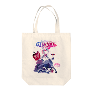 loveclonesの白雪姫と小人のサーカステント Tote bags
