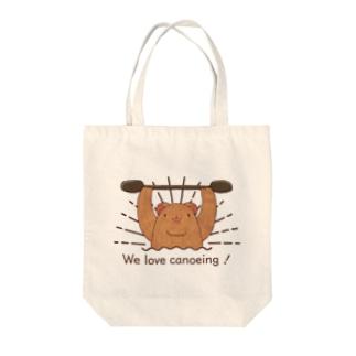We love canoeing ! Tote bags