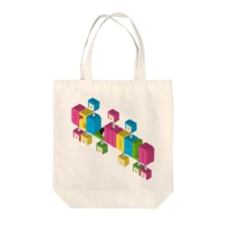 ロゴ風だけどロゴじゃないよ。 Tote bags