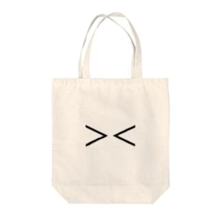 泣き顔 Tote bags