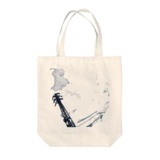 曇?雲 Tote bags
