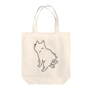 ふんばり柴 Tote bags