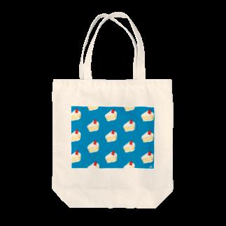 浮世似顔絵堂の涼しいショートケーキ~ Tote bags