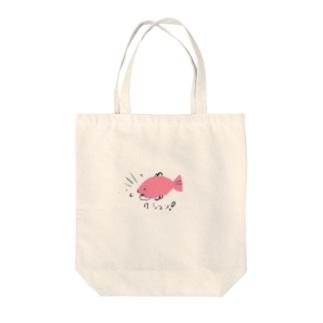 魚… Tote bags