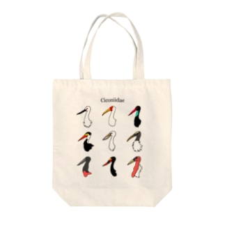 ciconiidae Tote bags