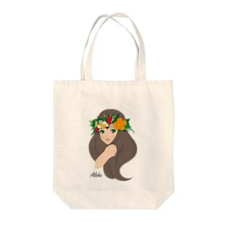 Hula girl 「レイ・ポオ」 bag Tote bags