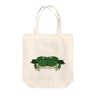 タピオカガエルトートバッグ Tote bags