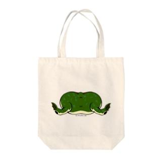 タピオカガエルのお尻トートバッグ Tote bags
