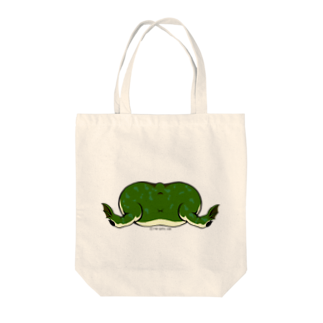 Dragon's Gateグッズのタピオカガエルのお尻トートバッグ Tote bags