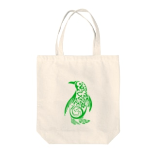 EverGreenPenguin Tote bags