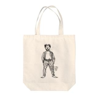 ミュシャ / 1897 /Portrait charge / Alphonse Mucha Tote bags