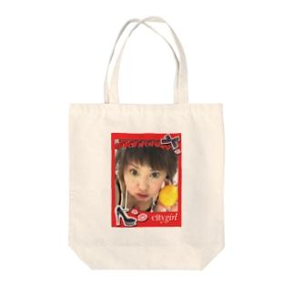 謎の新人タレント Tote bags