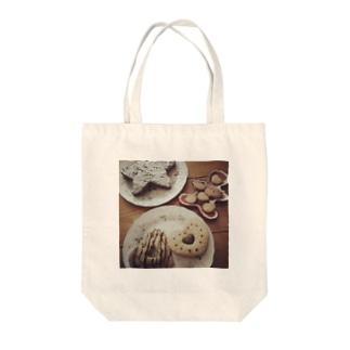 焼き菓子パーティー Tote bags