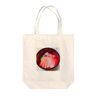海鮮丼🍣 Tote bags