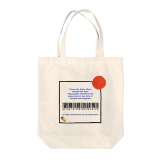 Latitude and Longitude  Tote bags