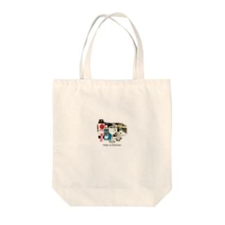 near_a_chicken Tote bags