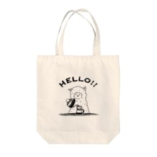 アルパカ珈琲店 Tote bags