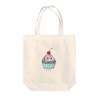 Cupcake!! Tote bags