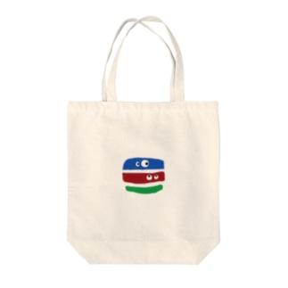 キョロキョロ Tote bags