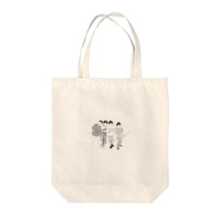 マカロニえんぴつ Tote bags