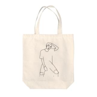 Boy.7 Tote bags