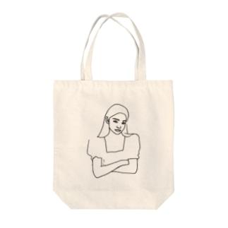 Girl.23 Tote bags