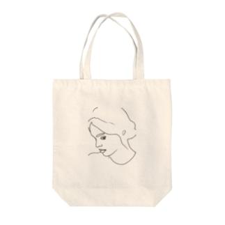 Girl.25 Tote bags