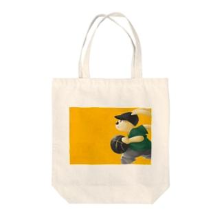yam_yummyのRUN&GUN Tote bags