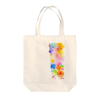 絵の具 Tote bags