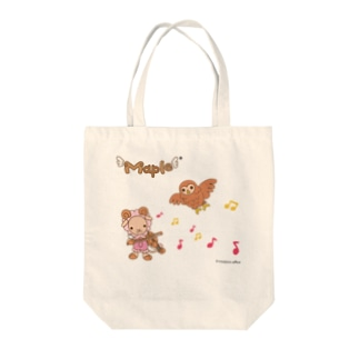 メープルとオリゴ Tote bags