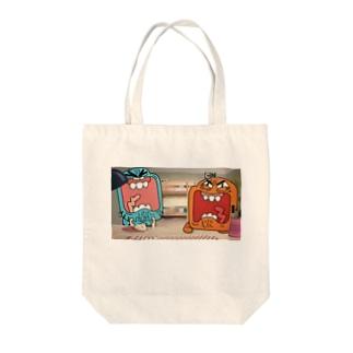 ガムボール Tote bags
