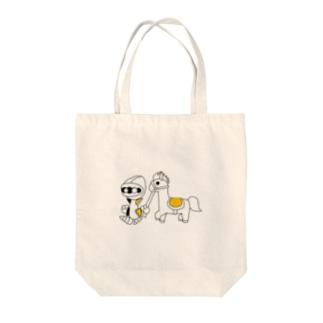 ナイツ・ライド Tote bags