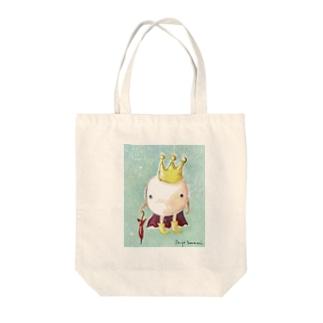 角南育代  雨上がりの王子 Tote bags
