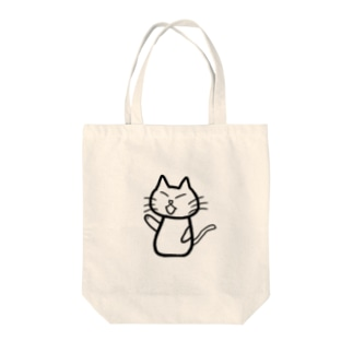CAT of DUTY Tote bags