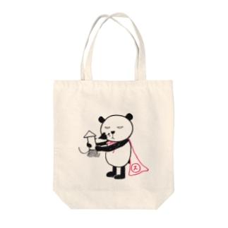 スパンダーマン(イカver.) Tote bags