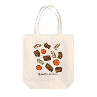 トリップのトマト煮込み Tote bags