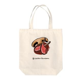 仔羊のロースト Tote bags