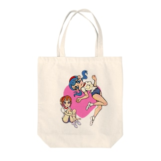 ニョリ画のいろいろ Tote bags